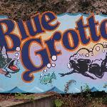 Blue Grotto Sign