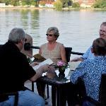 Dinner lake side
