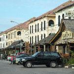 Waterfront City's shophouse strip
