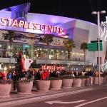 Los Angeles Staples Center home of the Los Angeles Lakers NBA basketball team