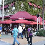 Outside shot of Van Dyke Cafe