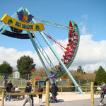 Sea Dragon Swing Ship ride at Woodlands Family Theme Park, Devon