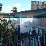 il y a des chambres avec terrasse privée