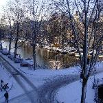 View out Living Room Window - Signal Canal