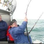 Catching BIG halibut