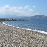 spiaggia adiacente