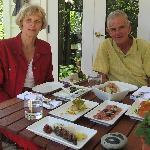 A vineyard platter lunch at Herzogs