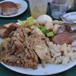 Luau Buffet Food