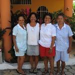 Brenda,Tina , Lucy, and Ditna.