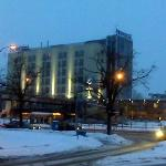 Novotel on a snowy February Morning