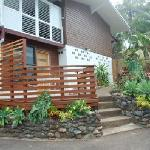 Studio 1: Deck and entrance
