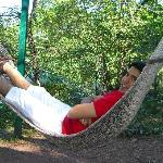 the relaxing hammock at baikunth