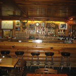 The Bar inside The Pine Lodge