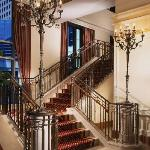 The Grand Staircase takes you to the second floor where Conrad's meeting space is conveniently l