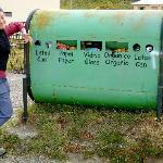 Recycling in El Chalten
