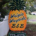 Waipio Wayside sign