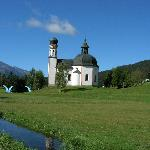 St Oswals Church in Seefeld