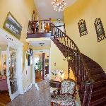 The beautiful foyer
