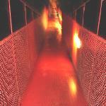 el puente de lo mejor iluminado