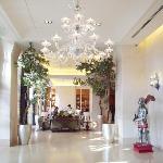 ホテルのロビーです。とてもきれい☆