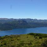 Lago Traful... subiendo al Cerro Negro