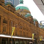 Queen Victoria Building, a chic shopping mall now