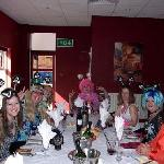 Our hen dinner at the Castlefield