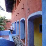 colorful archways