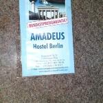 Amadeus Hostel Berlin Foto