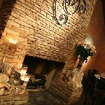 Banquet Room Fireplace