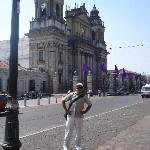Disfrutando de un lindo día de Semana Santa en Guatemala