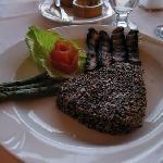 Tuna Steak in a Mixed Sesame Crust