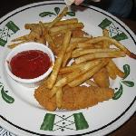 Kids Menu - Chicken Fingers & Fries