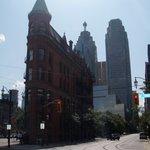 The Flatiron Building.