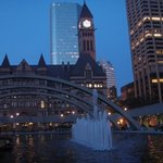 Old City Hall & Nathan Philip's Square at night