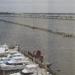great view of bay + bridge