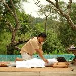 Massage on the hill