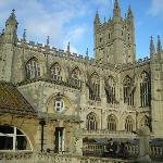 Roman Bath cathedral