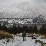 Arrochar from path up The Cobbler
