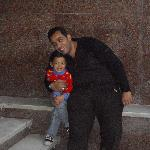 Hany ( the owner ) with his daughter ( Juliana )