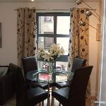 Dining area apartment 3