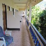 """Connecting Balcony """"A"""" block"""
