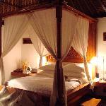 Bedroom of villa