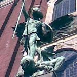 Vähän tarkemmin, miten enkeli antaa kyytiä demonille. (Hampuri)