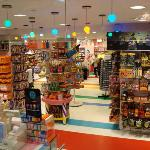 Dylan's Candy Bar... a tri-level candy store with a candy cafe on the top floor!
