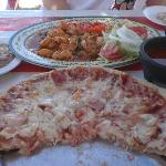 Shrimp a la Diabla & Shrimp Pizza
