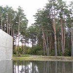 国際芸術センター外庭