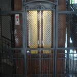 The cage elevator