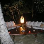 Lounge at night