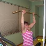 haveing a work out